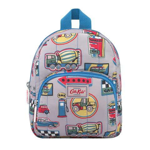 KIDS MINI QUILTED RUCKSACK GARAGE BADGES