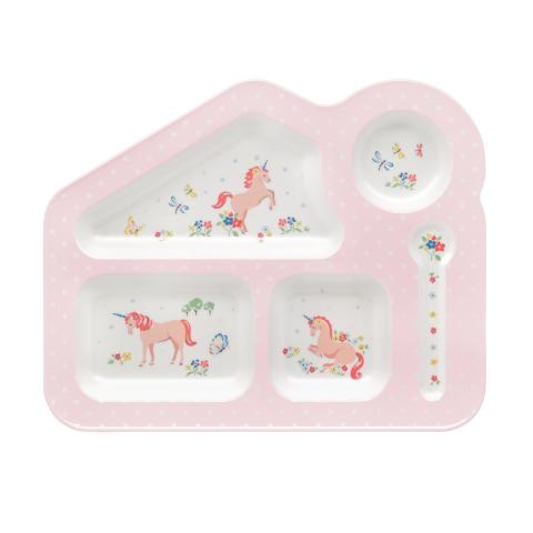 FOOD TRAY UNICORN MEADOW