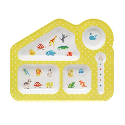FOOD TRAY NURSERY ANIMALS