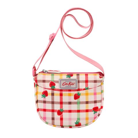 HANDBAG STRAWBERRY GINGHAM