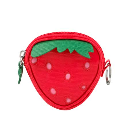 KIDS STRAWBERRY PURSE SOLID