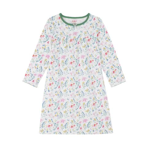 Kids LS Jersey Nightie Fantasy forest