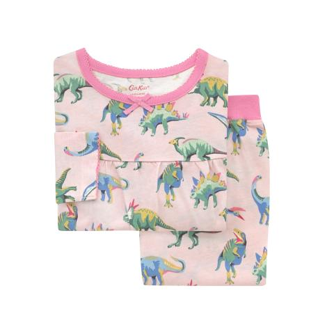Kids LS Jersey PJs T-rex and Friends