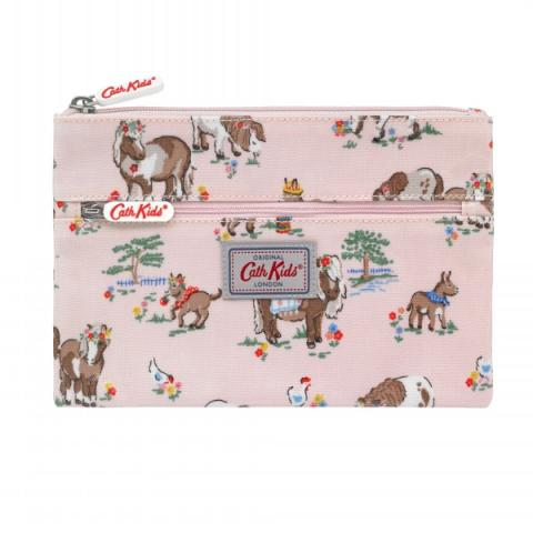 PENCIL CASE SHETLAND PONIES