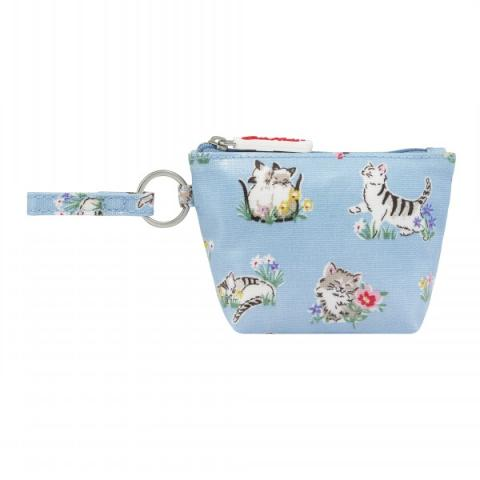 MONEY PURSE GARDEN KITTENS