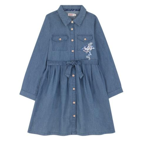 JUNIOR SHIRT DRESS 7-8 Y