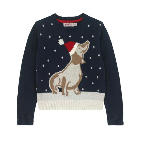 SAUSAGE DOG JUMPER 3-4 Y