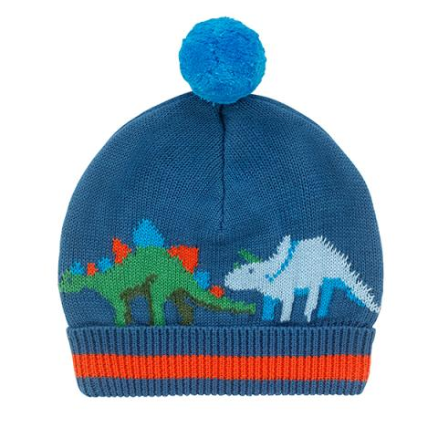 KNITTED HAT DINOSAUR FREE