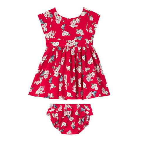 BBYDR LITTLE SCATTERED BLOSSOM 12-18 M