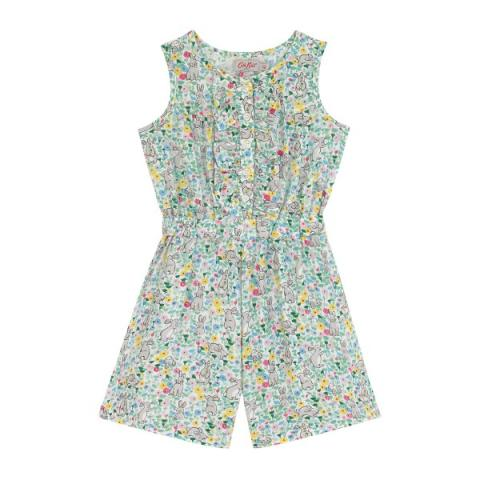 PLAYSUIT BUNNY MEADOW