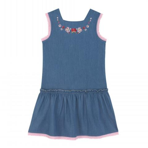 JUNIOR EMBROIDERED DRESS