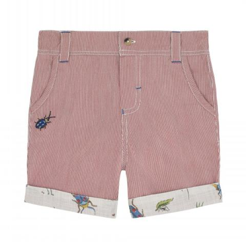 KIDS RED SHORTS