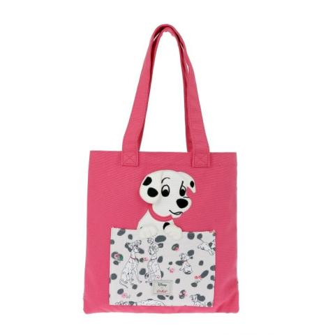 DISNEY BOOK BAG PINK RED