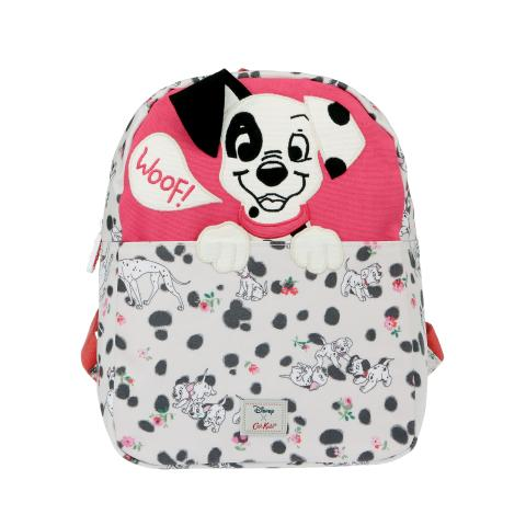 DISNEY KIDS MEDIUM SQUARE RUCKSACK PINK RED