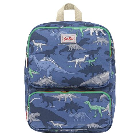 JUNIOR BOYS BACKPACK DINO SHADOW SOFT NAVY