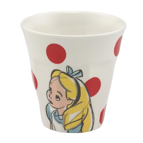 ALICE AND FRIENDS PL01 CREAM LIGHT RED DISNEY GIRLS BEAKER