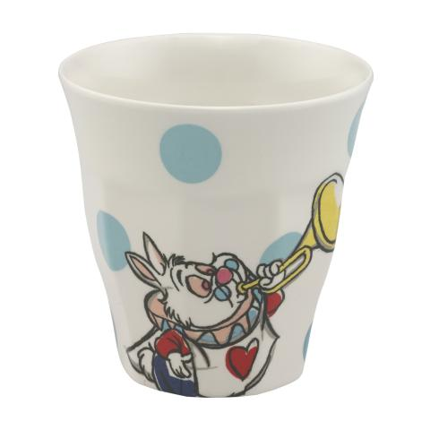 ALICE AND FRIENDS PL02 CREAM SEA BLUE DISNEY BOYS BEAKER