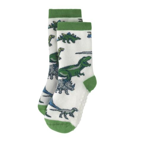 SLIPPER SOCKS DINO SHADOW 4-7 Y