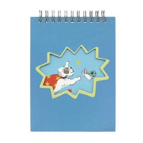 NOVELTY NOTEPAD SUPER DOGS