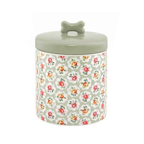 Provence Rose Ceramic Treat Jar
