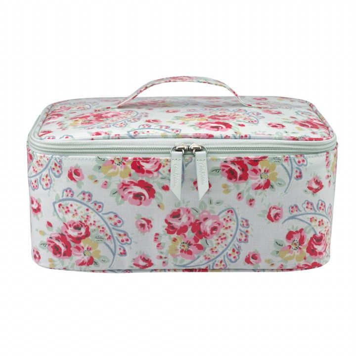 large vanity case rose paisley ice blue cath kidston. Black Bedroom Furniture Sets. Home Design Ideas