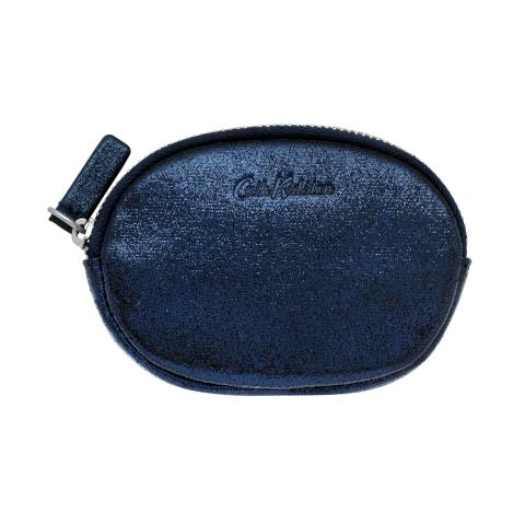 OVAL COIN PURSE SLV