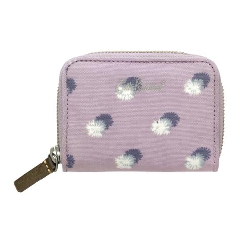 MINI CONTINENTAL WALLET MINI POM POM SPOT BLUSH