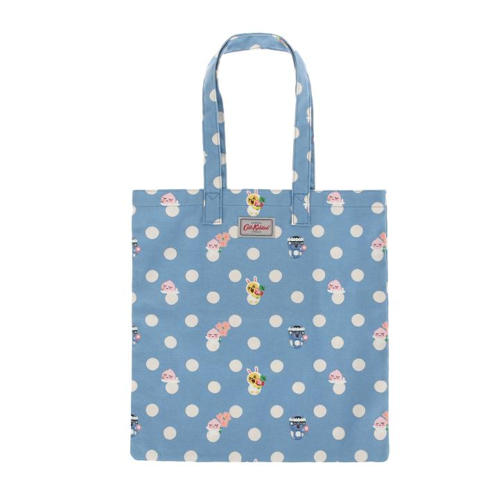 KAKAO FRIENDS BUTTON SPOT COTTON BOOK BAG