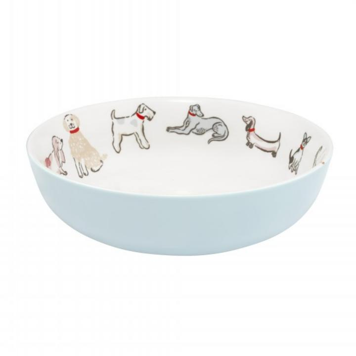 PASTA BOWL SQUIGGLE DOGS