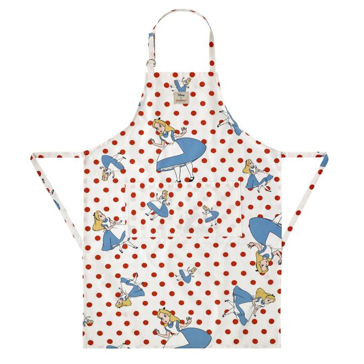 FALLING ALICE LIGHT CREAM DISNEY APRON