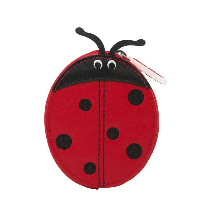 NOVELTY LADYBIRD PURSE SOLID