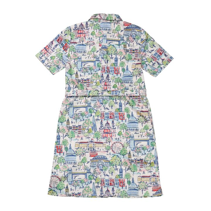 LONDON VIEW SHIRT DRESS 8