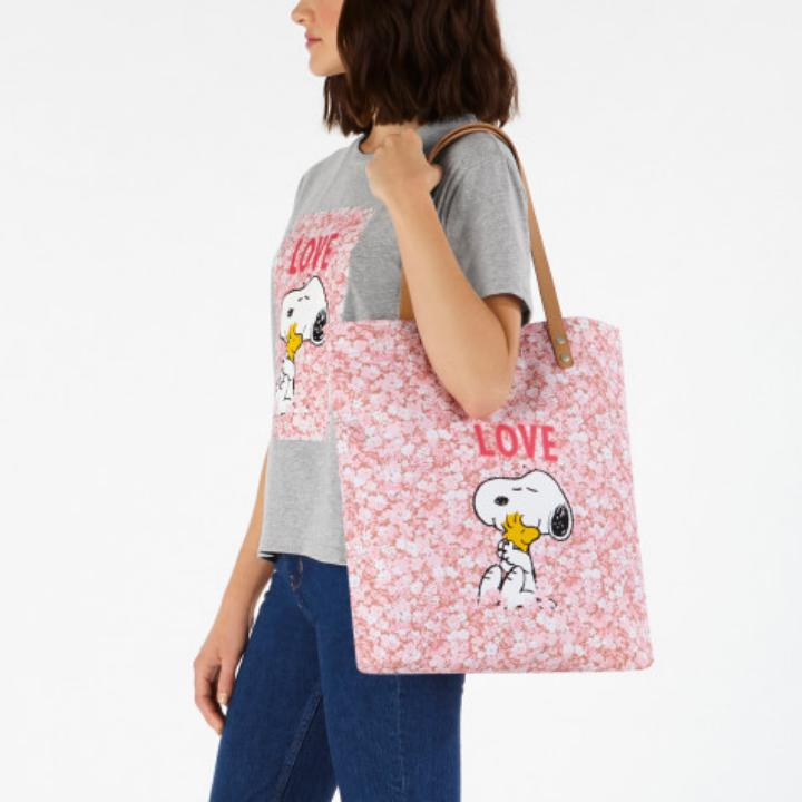 Shopper Snoopy Love Paper Ditsy